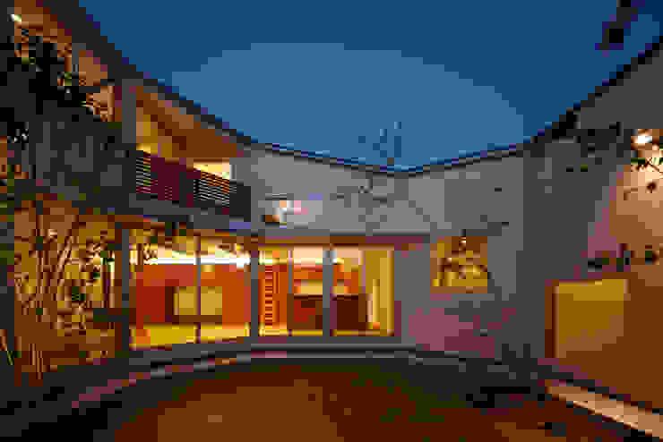 一宮の家 オリジナルな 庭 の 一級建築士事務所 渡辺泰敏建築設計事務所 オリジナル