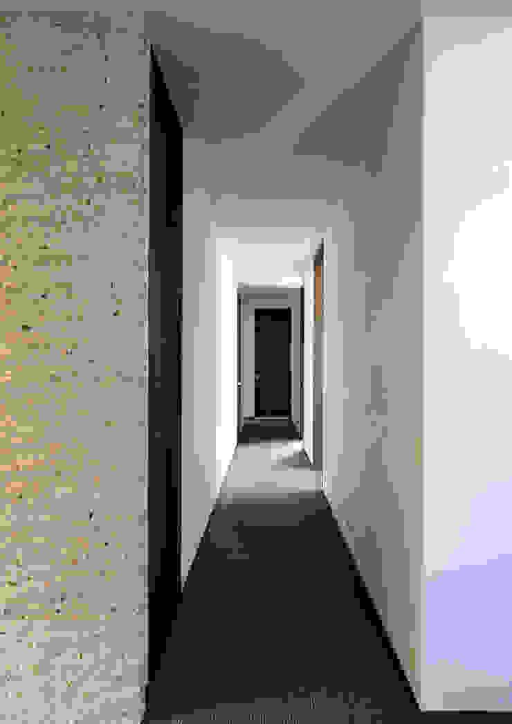 上野毛の住宅 renovation モダンスタイルの 玄関&廊下&階段 の 井上洋介建築研究所 モダン