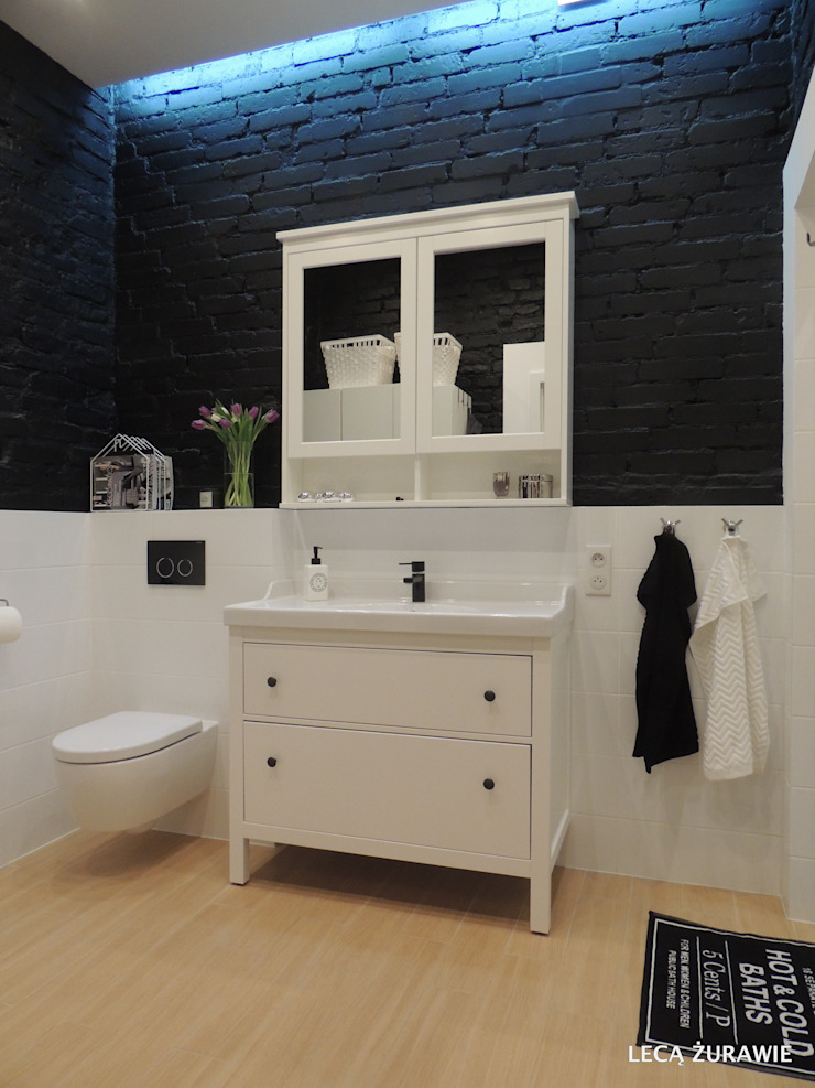 Łazienka Eklektyczna łazienka od Studio Projektowe RoRO interior + design Eklektyczny
