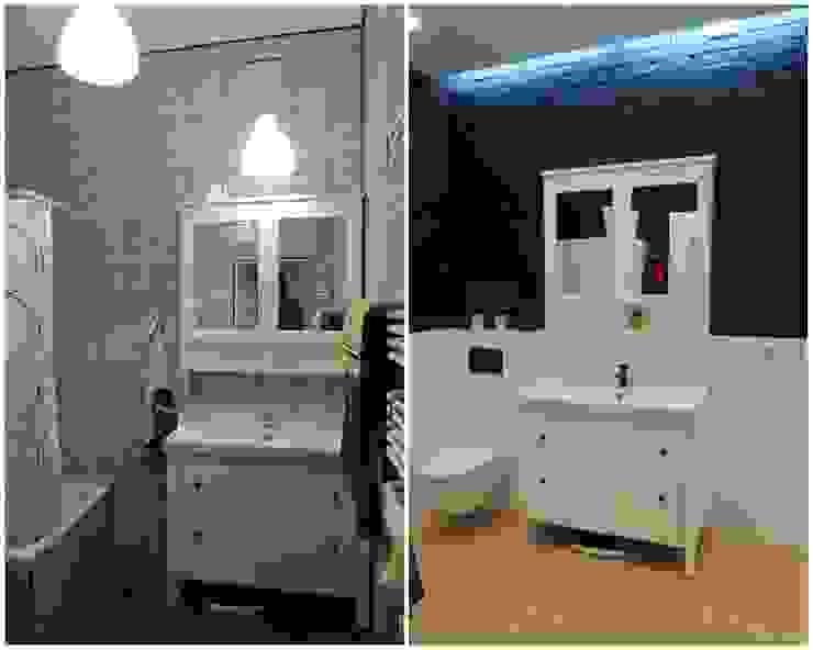 Łazienka od Studio Projektowe RoRO interior + design