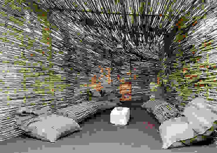 Rustikaler Garten von TOMMASO SECCHI, LUCIA FRASCERRA, DAVIDE PEDRINI Rustikal