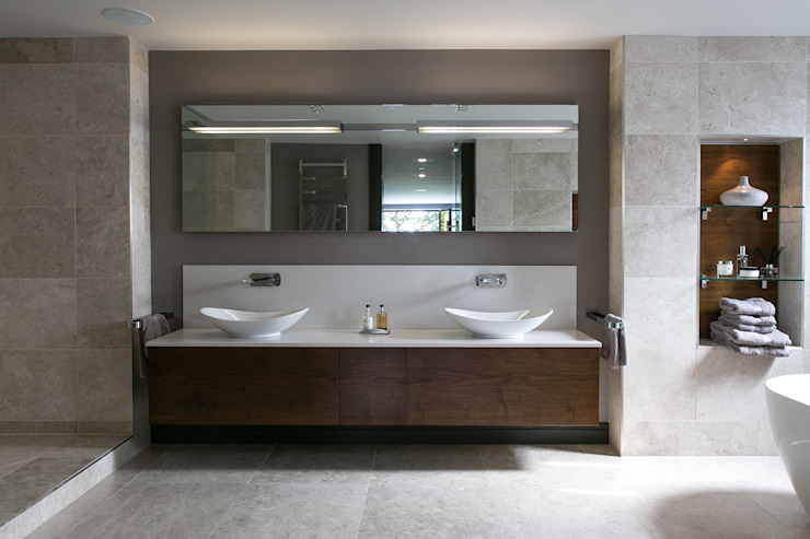 The Ultimate Sophistication Eclectic style bathroom by Finite Solutions Eclectic