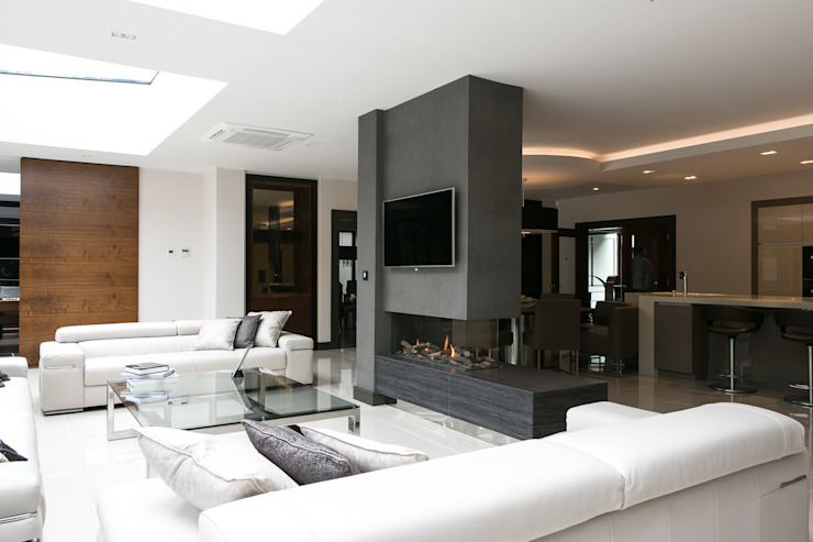 The Ultimate Sophistication Minimalist living room by Finite Solutions Minimalist