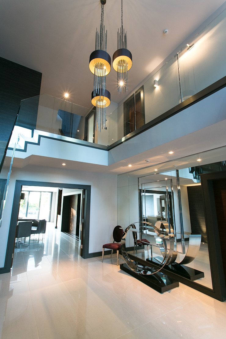 The Ultimate Sophistication Modern corridor, hallway & stairs by Finite Solutions Modern