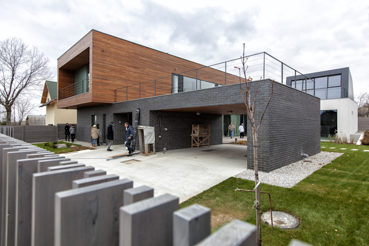 Дом #2 Дома в стиле модерн от DK architects Модерн