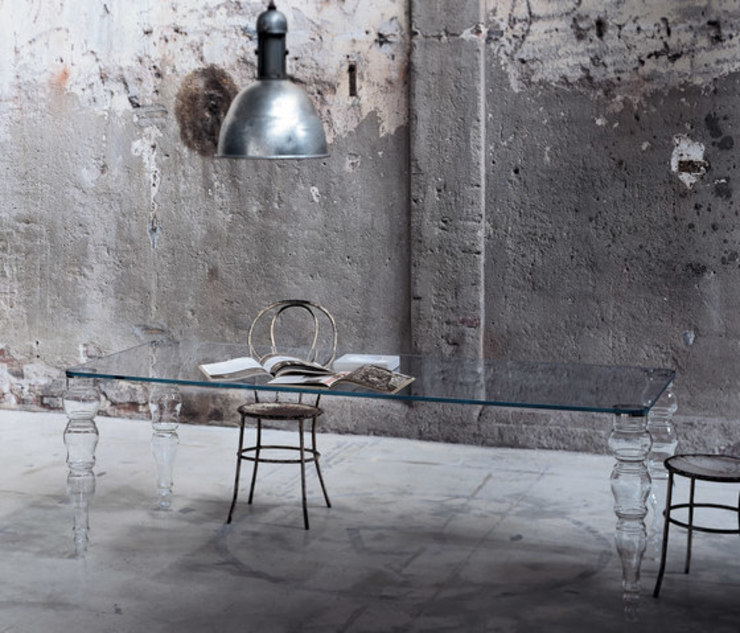 Postmodern Table by Glas Italia: modern  by Campbell Watson, Modern