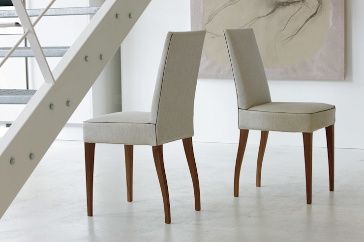 Aretusa Chair by Porada: modern  by Campbell Watson, Modern