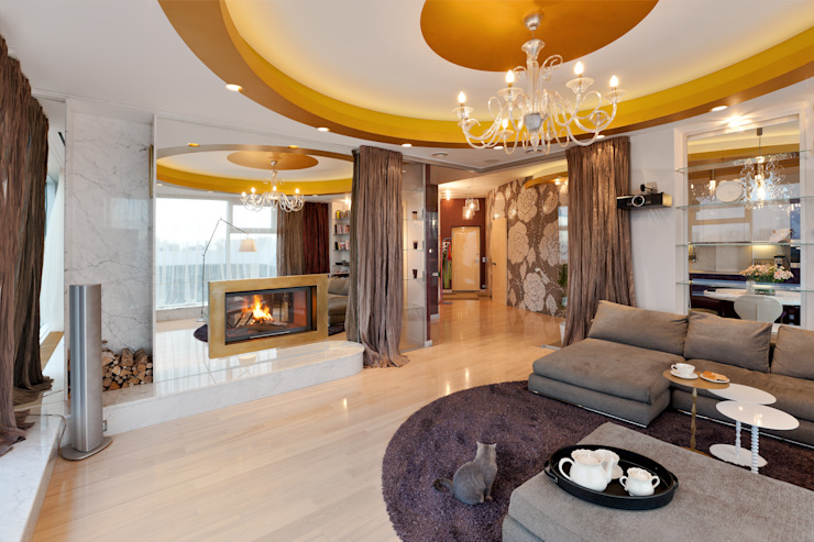 Format A5 Fontanka Living room