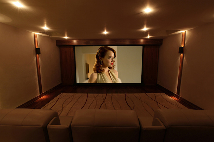 What Lies Beneath Home Cinema Finite Solutions Media room