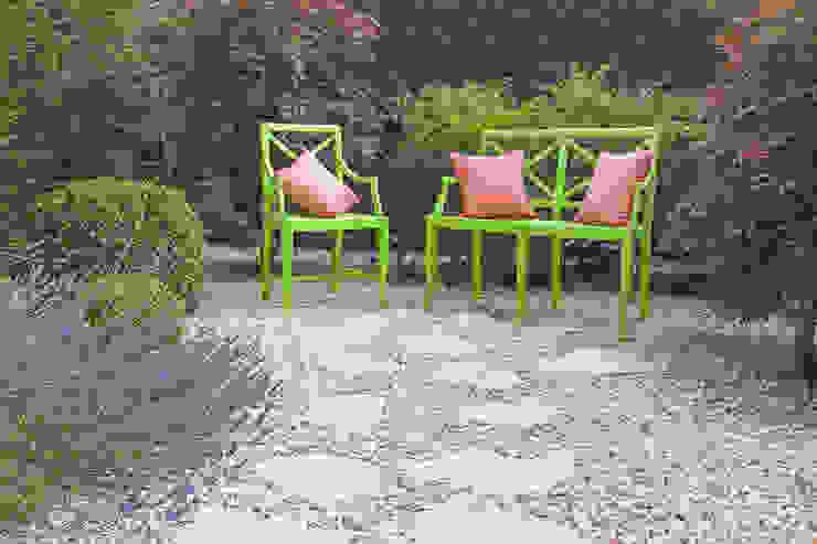 Eclectic style garden by silvia delpiano studio e progettazione giardini Eclectic