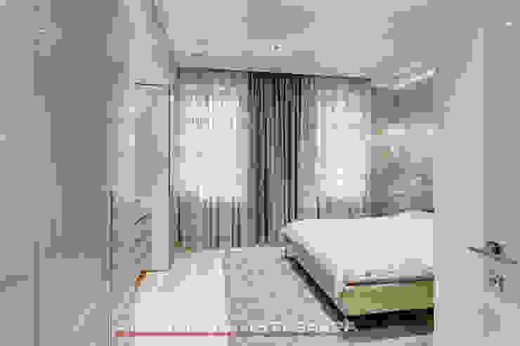 ЖК <q>Берег</q> (квартира площадью 114,5 кв. м.) Спальня в стиле минимализм от Светлана ковальчук Дизайн студия 'Академия Интерьера' Минимализм