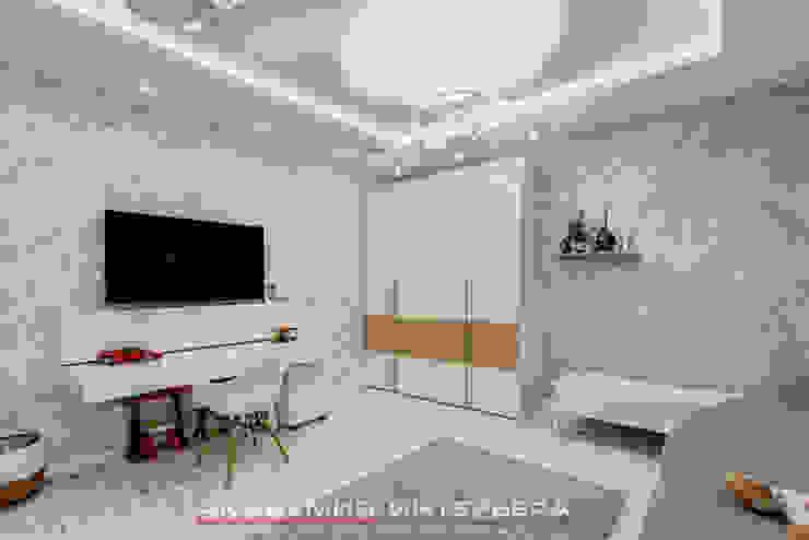 ЖК <q>Берег</q> (квартира площадью 114,5 кв. м.) Детская комнатa в стиле минимализм от Светлана ковальчук Дизайн студия 'Академия Интерьера' Минимализм