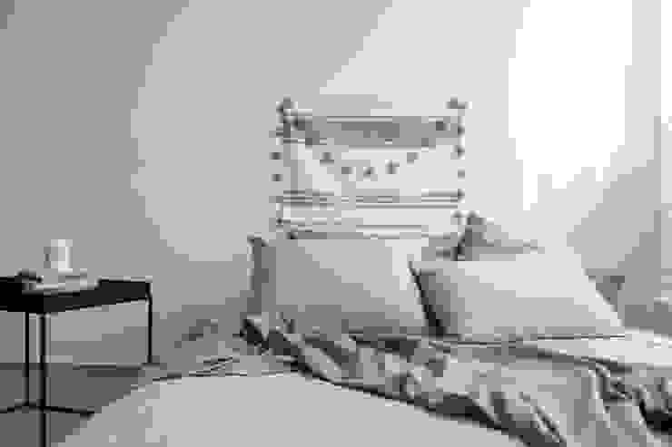 린넨 침구: 멜로브라운의 현대 ,모던