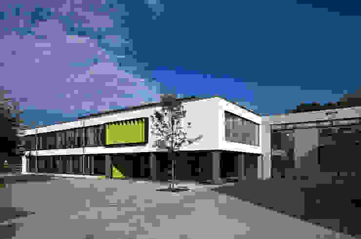 Heinrich Böll Schule Hattersheim Neubau Oberstufengebäude Homify