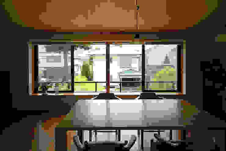 Salle à manger originale par 早田雄次郎建築設計事務所/Yujiro Hayata Architect & Associates Éclectique