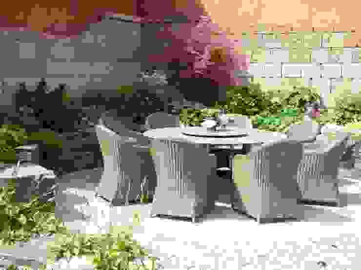 Ein Ort der Gemütlichkeit Mediterraner Garten von Gärten für Auge und Seele Mediterran