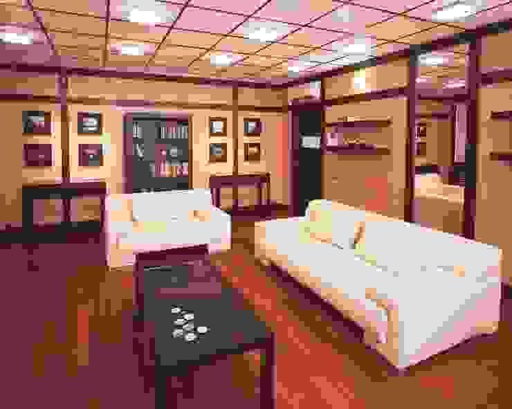 Интерьеры двухуровневой квартиры на ул. Куусинена Спальня в азиатском стиле от дизайн студия 'LusiSarkis ' Азиатский