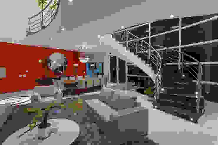 Casa Flora Salas de estar modernas por Arquiteto Aquiles Nícolas Kílaris Moderno