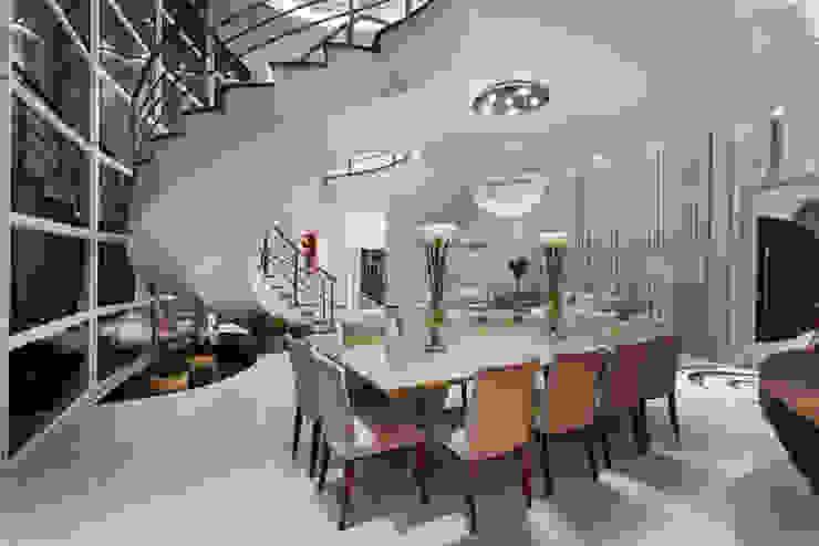 Casa Flora Salas de jantar modernas por Arquiteto Aquiles Nícolas Kílaris Moderno