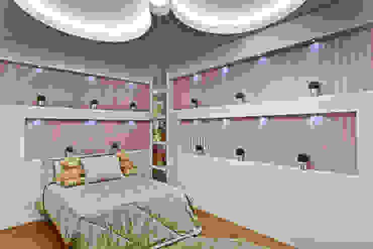 Casa Flora Quarto infantil moderno por Arquiteto Aquiles Nícolas Kílaris Moderno