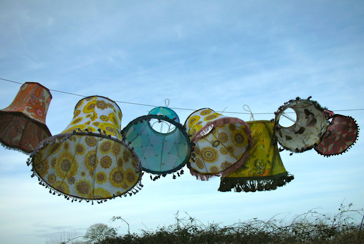 Handmade, Individual lampshades: eclectic  by Random Makes, Eclectic