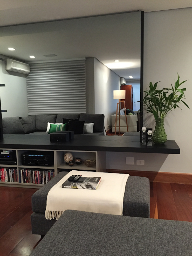 Salas multimedia de estilo moderno de AMMA PROJETOS Moderno