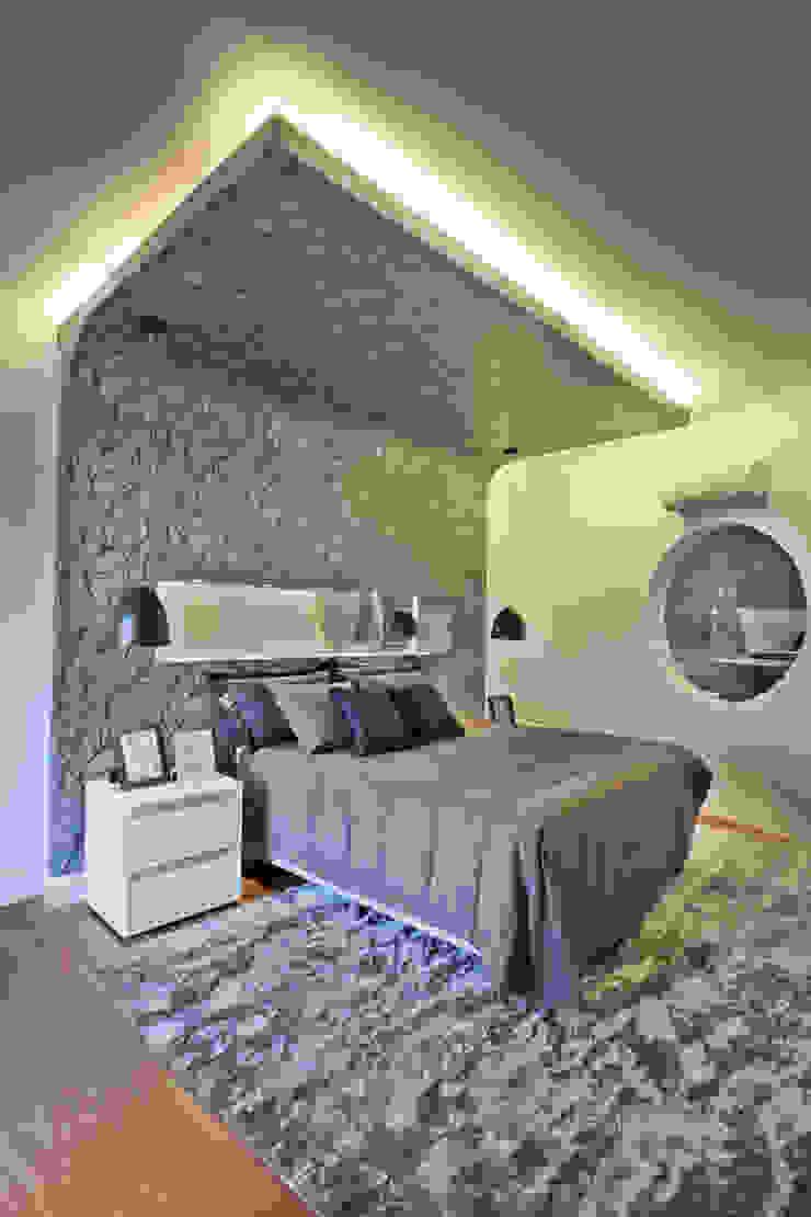 Casa Flora Quartos modernos por Arquiteto Aquiles Nícolas Kílaris Moderno