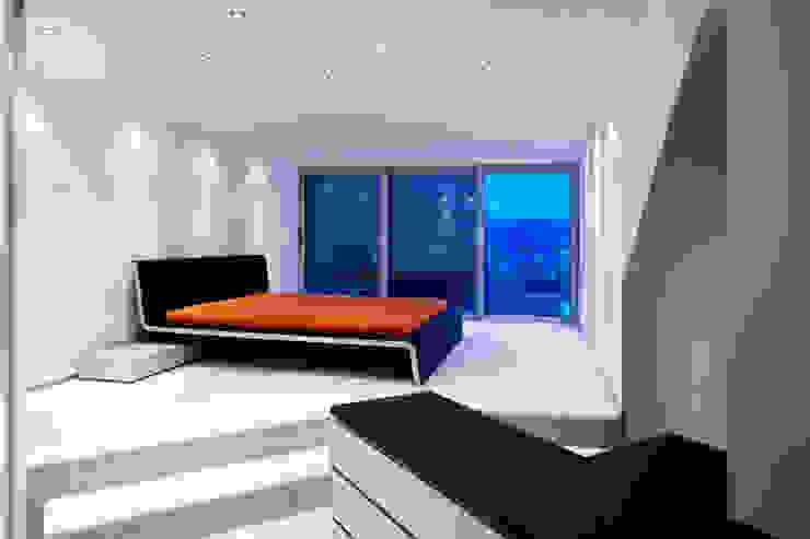 Chambre de style  par gmyrekarchitekten, Moderne