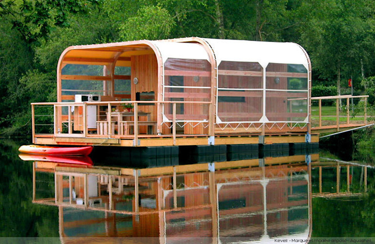 Kevell ...The Ecological Home Rumah Minimalis Oleh Floating Habitats T/A AQUASHELL Minimalis