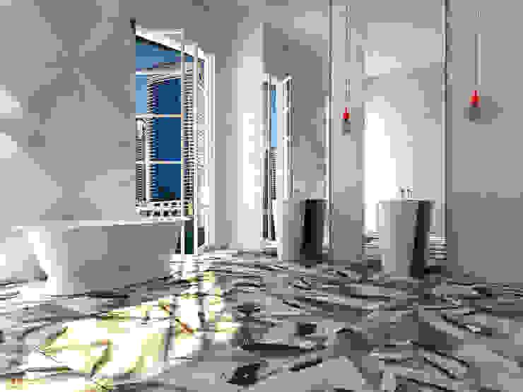 Dubai Ванная комната в эклектичном стиле от Андрейченко Анжеликa Эклектичный