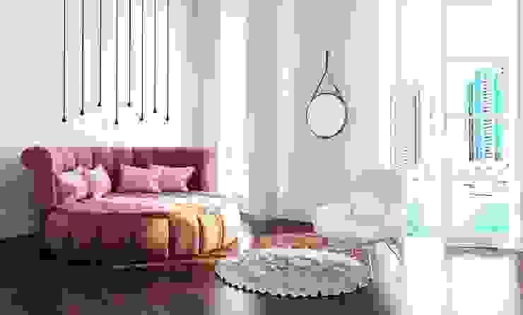 Dubai Спальня в эклектичном стиле от Андрейченко Анжеликa Эклектичный
