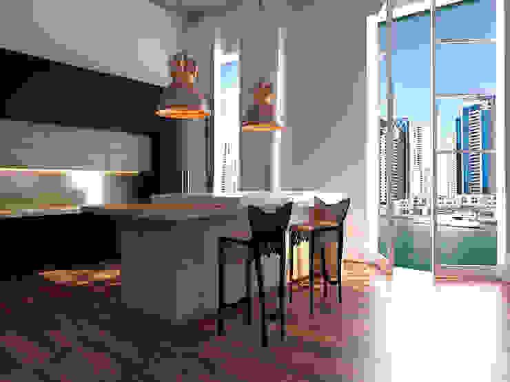 Dubai Кухни в эклектичном стиле от Андрейченко Анжеликa Эклектичный