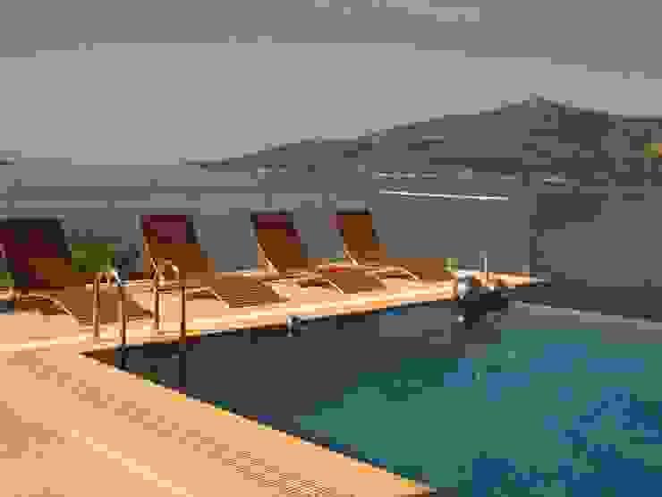 A Holiday Home in Turkey Mediterranean style pool by Sarah Ward Associates Mediterranean