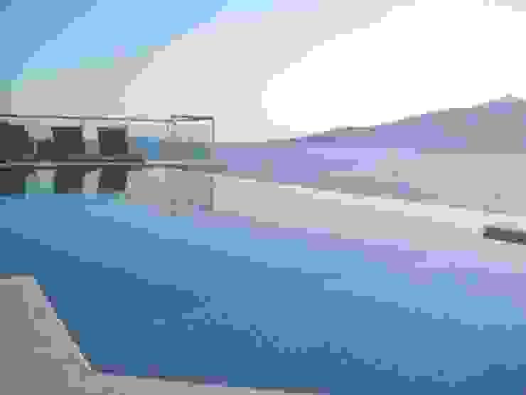 A Holiday Home in Turkey Modern pool by Sarah Ward Associates Modern