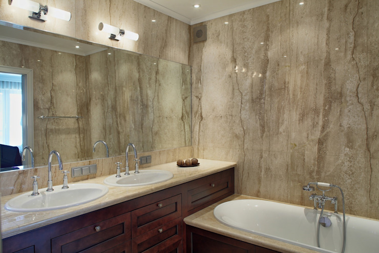 Klasyczna Konstancja Klasyczna łazienka od RS Studio Projektowe Roland Stańczyk Klasyczny