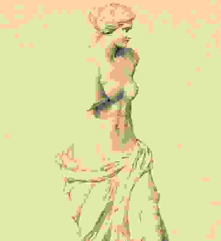 Kardo Findlater - Venus de Milo: classic  by Tektura Wallcoverings, Classic
