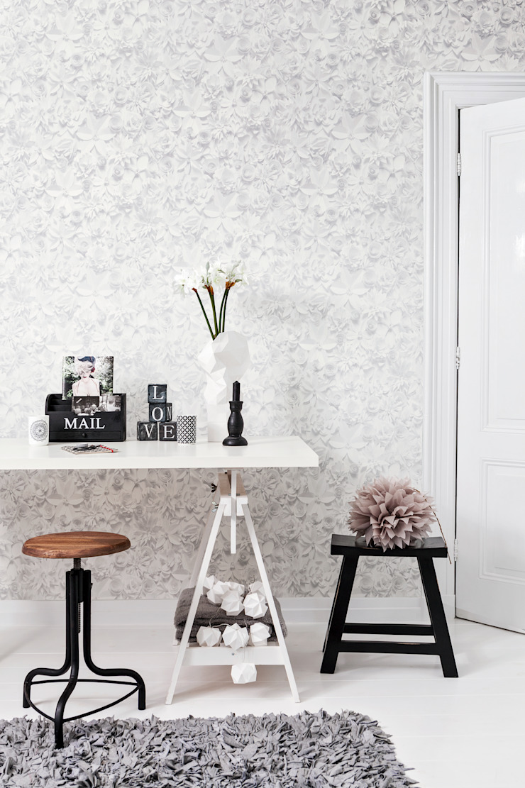 Moods: eclectic  by Tektura Wallcoverings, Eclectic