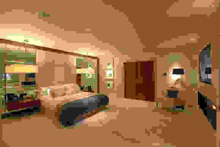 Modern contemporary bedroom by Sarah Ward Associates Modern style bedroom by Sarah Ward Associates Modern