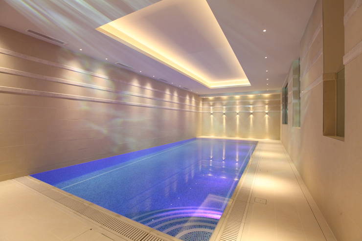 Contemporary home in England Modern pool by Sarah Ward Associates Modern