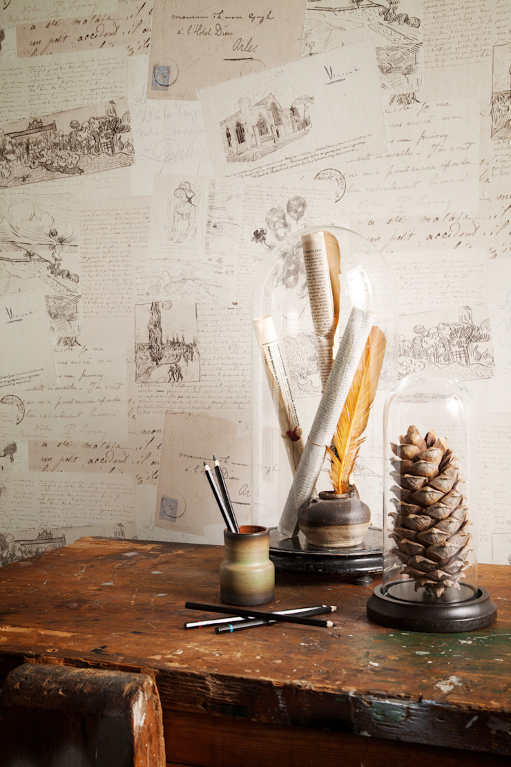 Van Gogh par Tektura Wallcoverings Moderne