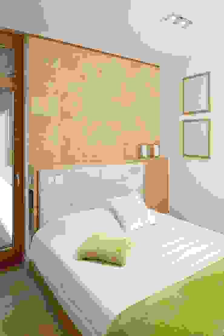 Mieszkanie Nowoczesna sypialnia od Bm2 pracownia architektury Nowoczesny