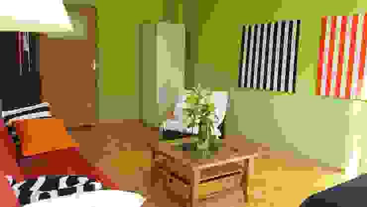 Eklektik Oturma Odası Studio projektowe SUZUME Eklektik