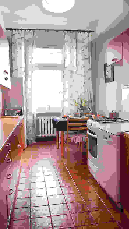 Mieszkanie w Szczecinie po Home staging'u Eklektyczna kuchnia od Studio projektowe SUZUME Eklektyczny
