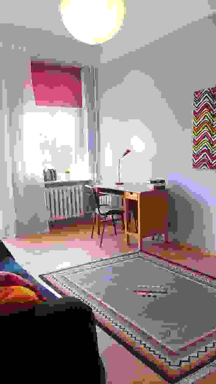 Mieszkanie w Szczecinie po Home staging'u Eklektyczny pokój dziecięcy od Studio projektowe SUZUME Eklektyczny