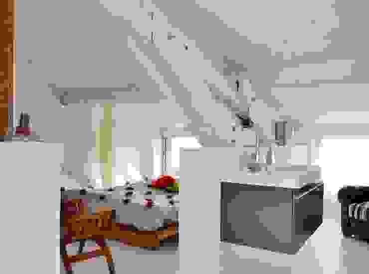 coin nuit Chambre minimaliste par Loftsdesign Minimaliste