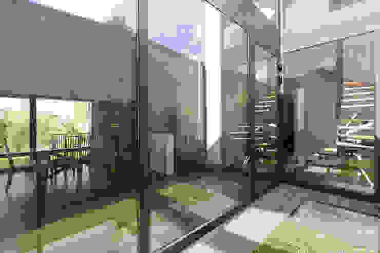 en coeur d'ilôt Maisons modernes par agence MGA architecte DPLG Moderne