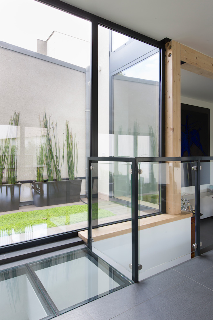 en coeur d'ilôt agence MGA architecte DPLG Maisons modernes
