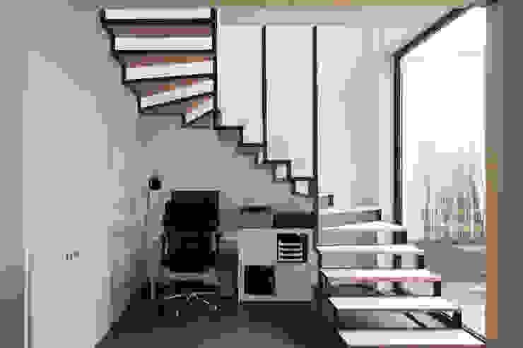 agence MGA architecte DPLG Oficinas de estilo industrial
