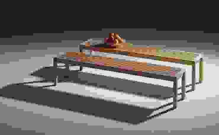 Lattenbank Kampen van George van Engelen Design Scandinavisch