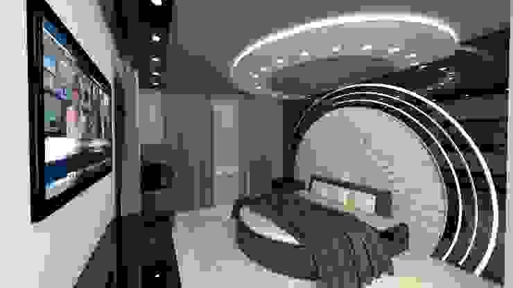 Bedroom Desing Project Modern Yatak Odası homify Modern